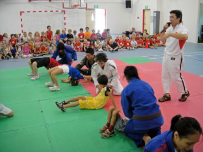 2010 03 12 Judo Activity - Swiss School 2