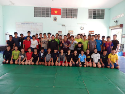 2014 04 HCMC Spring training camp 3