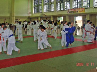 2005 1217 1st Malaysia juvenile judo championship- KL 2