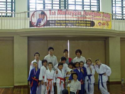 2005 1217 1st Malaysia juvenile judo championship- KL 3