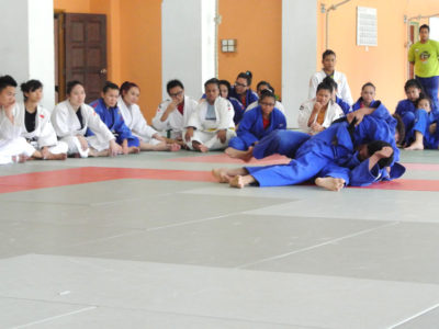 2013 10 SJF visit - Johor Sports School 1