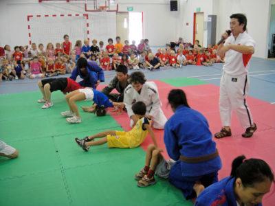 2010 03 12 Judo Activity - Swiss School 2