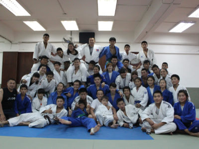 2012 08 20 Training with Mongolian team 1