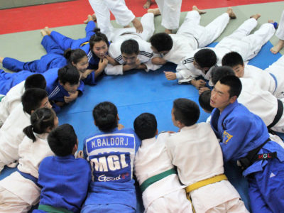 2012 08 20 Training with Mongolian team 2