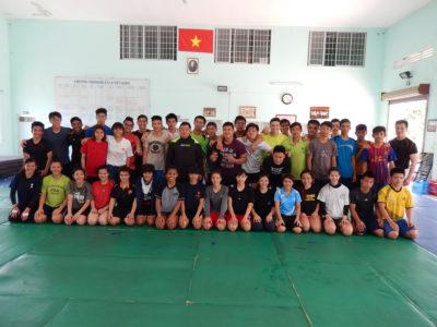2014 04 HCMC Spring training camp 3