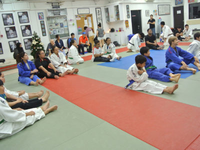 2015 12 Judo workshop for the visually impaired 1