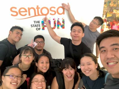 2018 08 Jagsport - Sentosa Outing 1