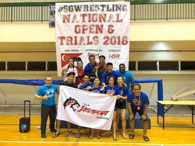 2018 National Wrestling trials 1