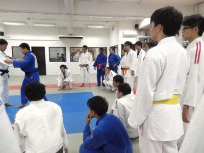 2013 11 18 BA training with Mongolians 1