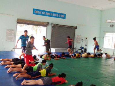 2014 04 HCMC Spring training camp 2